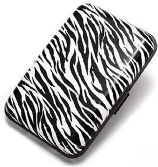 6d5f3665c28 bol.com | Creditcard / pasjes houder aluminium wallet Zebra