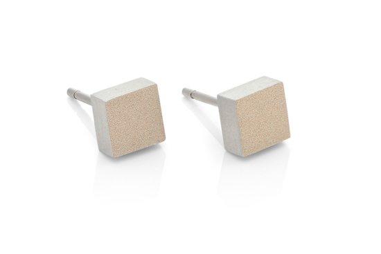 Clic Jewellery aluminium earring gold