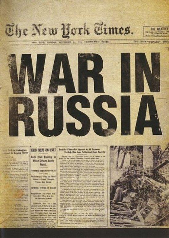 Cover van de film 'War In Russia'