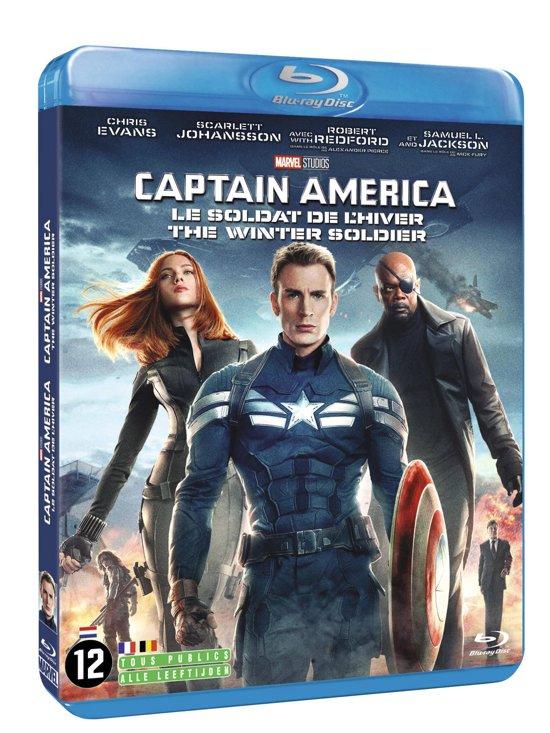DVD cover van Captain America: The Winter Soldier