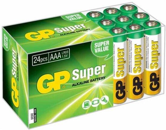 GP AAA Super Alkaline Batterijen
