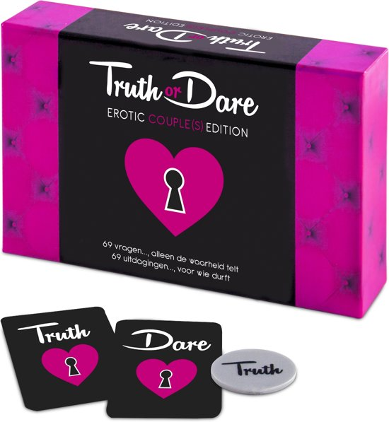 Tease en Please Truth or Dare Erotische Spel