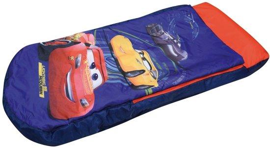 Cars opblaasbaar bed met dekbed 150 x 90 cm