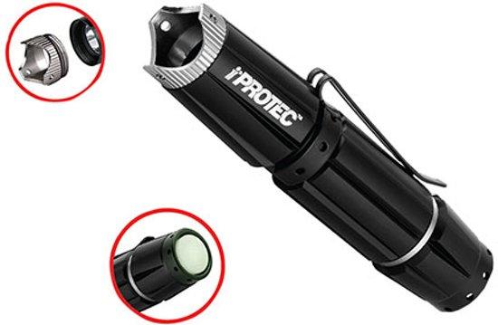 True UtilityiProtec Pro100 LED Light Zaklamp - Zwart