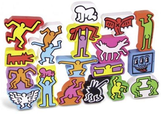 Thumbnail van een extra afbeelding van het spel Stapel spel van de kunstenaar Keith Haring