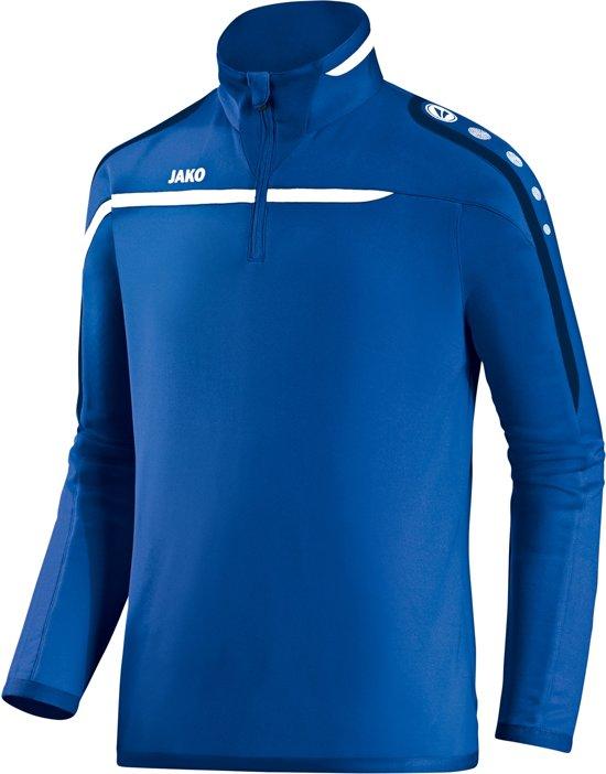 Jako Ziptop Performance jr - Sporttrui - Kinderen - Maat 140 - Blauw
