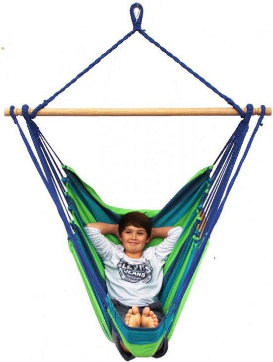 Hangstoel Eénpersoons 'Tropical' Pine Lounge