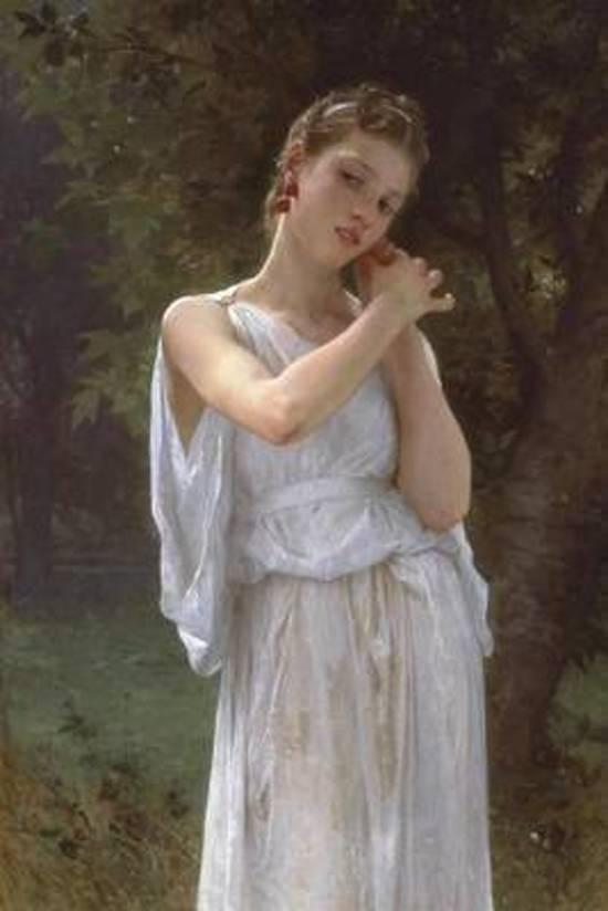 Earrings by William-Adolphe Bouguereau - 1891