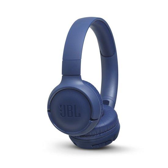 JBL T500BT - Draadloze on-ear koptelefoon - Blauw