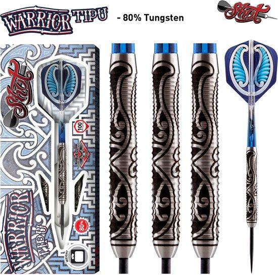 Shot Steeltip Warrior Tipu 80% 23 gram Dartpijlen