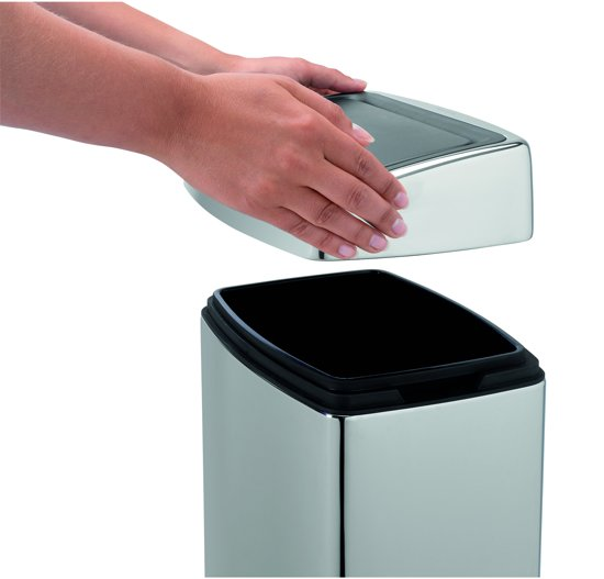 Brabantia Touch Bin Afvalemmer 10 L Glans