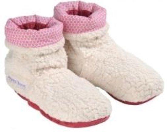 Warmies - Slippies Boots Sherpa Beige
