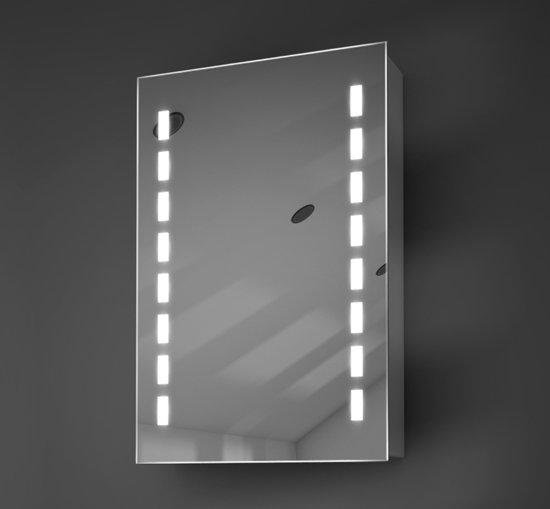 bol.com | Badkamer spiegelkast met verlichting en spiegelverwarming ...