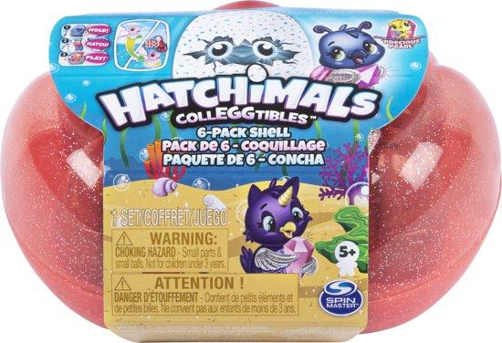 Hatchimals CollEGGtibles 6 Pack Sea shell Carton - Season 5