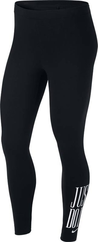 Nike W NSW Legging Club JDI Sportlegging Dames - Black/White