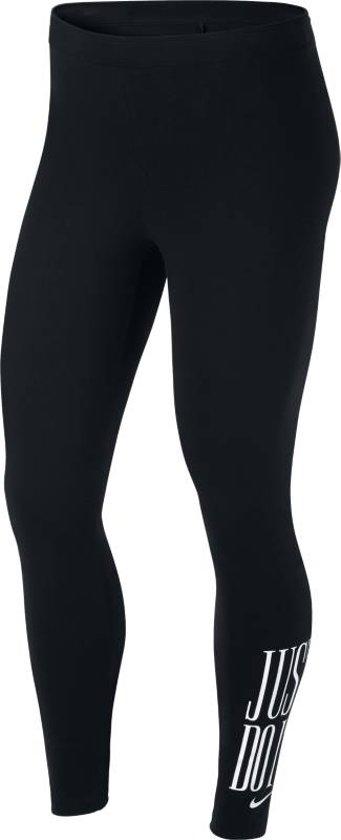 2f152b5cd43 Nike W NSW Legging Club JDI Sportlegging Dames - Black/White