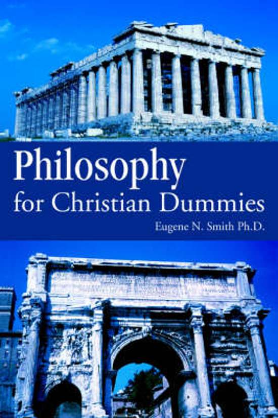 Philosophy for Christian Dummies