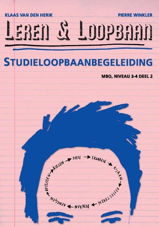 Leren Loopbaan MBO niveau 3 4 2 Studieloopbaanbegeleiding