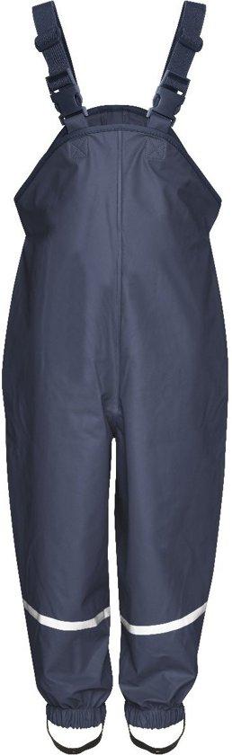 Playshoes Regenbroek met bretels Kinderen - Donkerblauw - maat 86