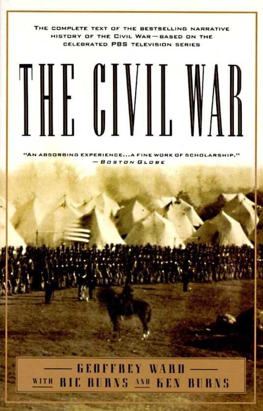 Boek cover The Civil War van Geoffrey C. Ward (Paperback)