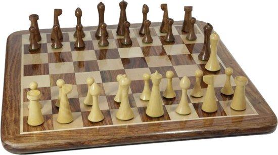 Afbeelding van het spel 18 BC - AD 19 Minimalistisch Hermann Ohme schaakset - 115 mm Koning