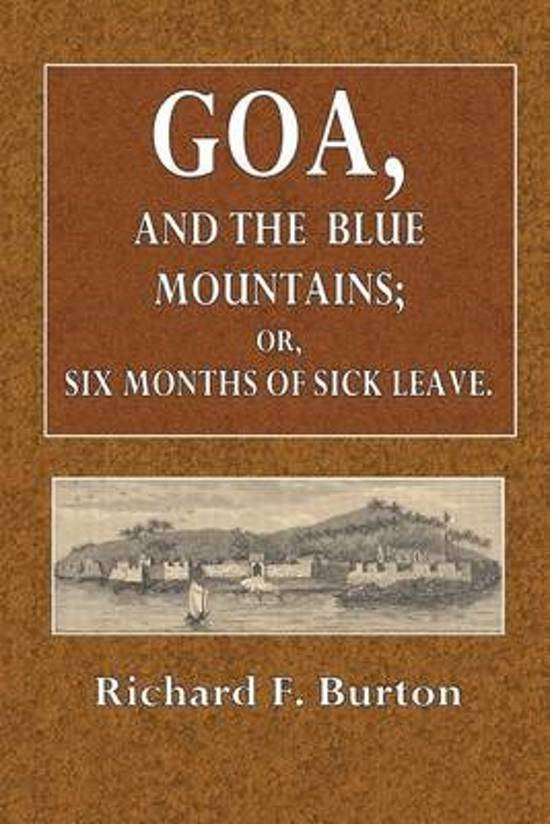 Goa, and the Blue Mountains,