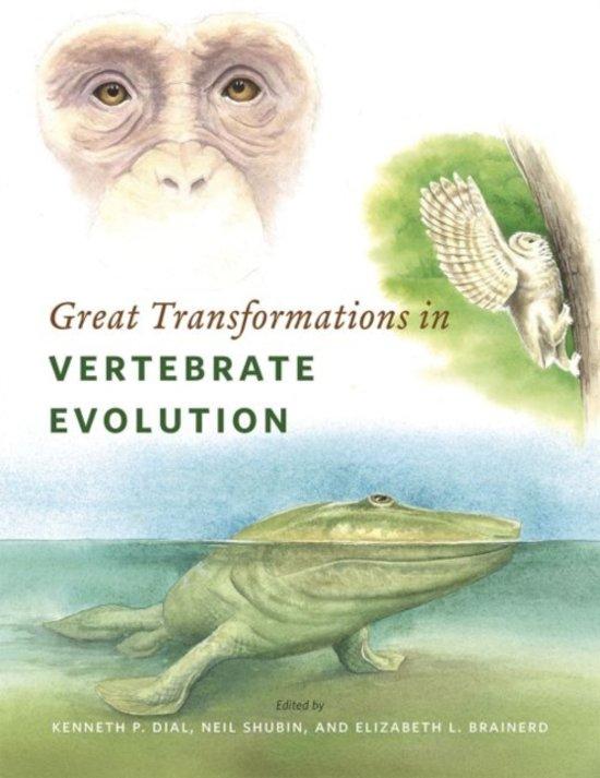 bol.com | Great Transformations in Vertebrate Evolution, Kenneth P ...