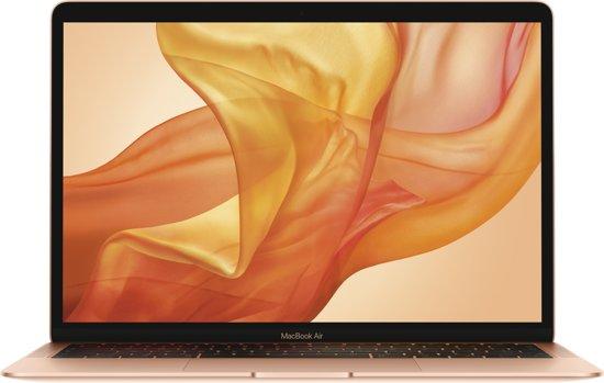 Apple Macbook Air (2018) – 256 GB opslag – 13.3 inch - Goud