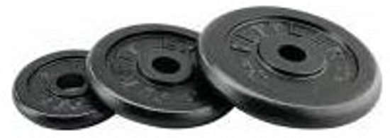 Kettler Halterschijf Zwart Gietijzer 10kg