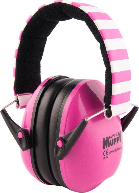 Alpine Muffy - gehoorbeschermer voor kinderen - SNR 25 dB - roze