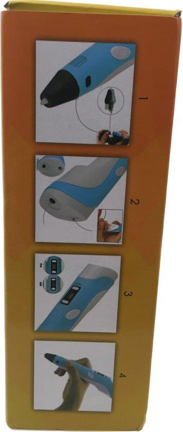 3D Pen Advanced Otiz Goods ABS & PLA  LCD 2nd-Gen incl. 3x2Meter Filaments