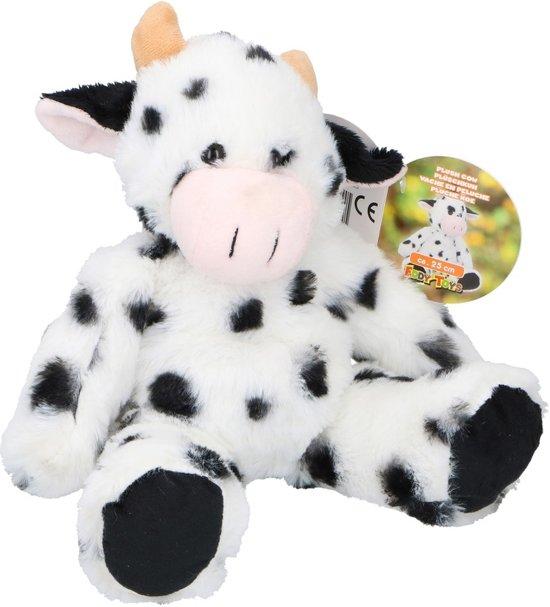 15b3f123af0f23 Pluche koe knuffel 25 cm - Boerderijdieren koeien knuffels - Speelgoed voor  kinderen