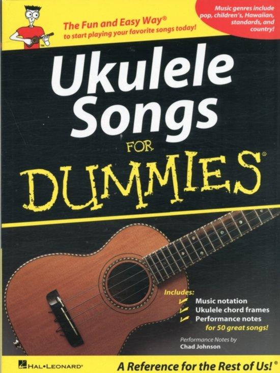 Bol Ukulele Songs For Dummies Hal Leonard 9781423496045