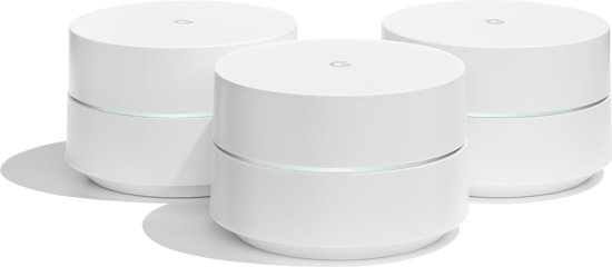 Bolcom Google Wifi Triple Pack Multiroom Wifi Systeem