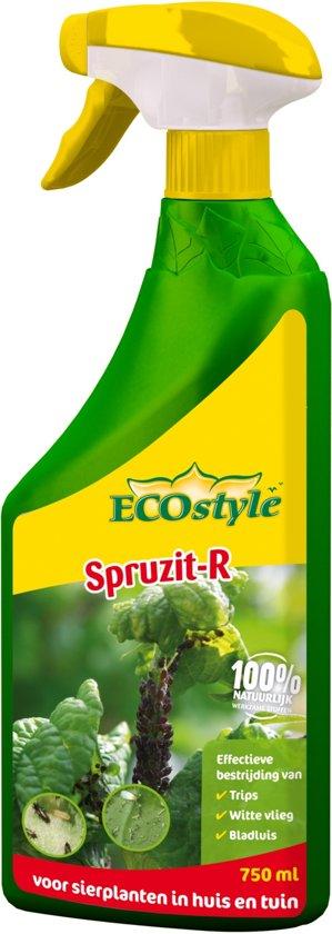 ECOstyle Spruzit-R - Spray tegen bladluis, trips en witte vlieg - 750 ml