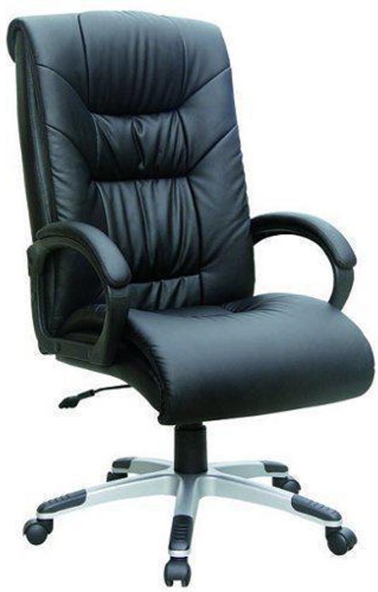Bureaustoel Directie S210 Zwart Leer Met Hout.Bol Com Hjh Office President Soft Bureaustoel Leder Zwart