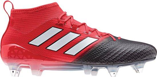 newest 54a6a 10f8f adidas ACE 17.1 Primeknit Sportschoenen - Maat 40 - Mannen - roodzwart
