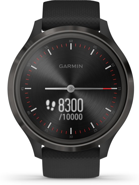 Garmin Vivomove 3 - hybride smartwatch - zwart