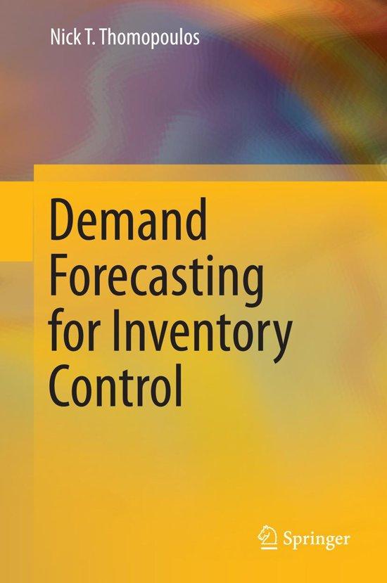Demand Forecasting for Inventory Control