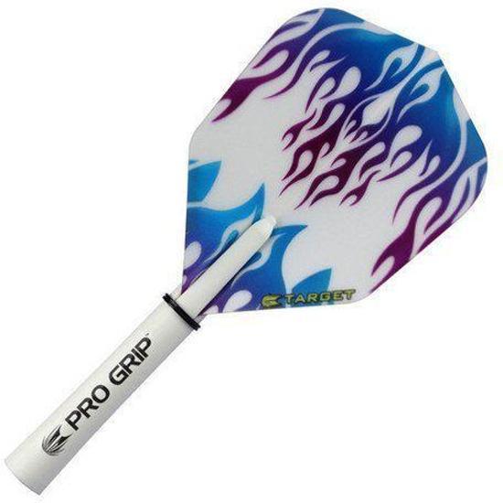 Target Pro 100 Vision flights Blue Purple Flame
