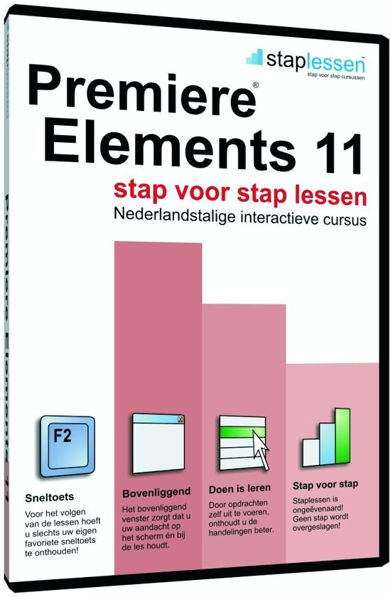 ShareART Staplessen Adobe Premiere Elements 11 - Nederlands