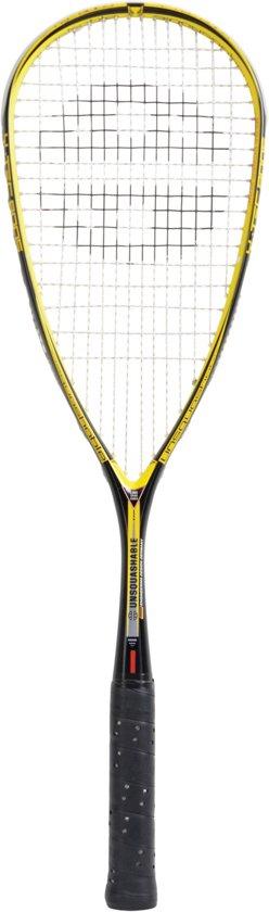 Unsquashable Squashracket Y-tec 8005 C4 Zwart/geel