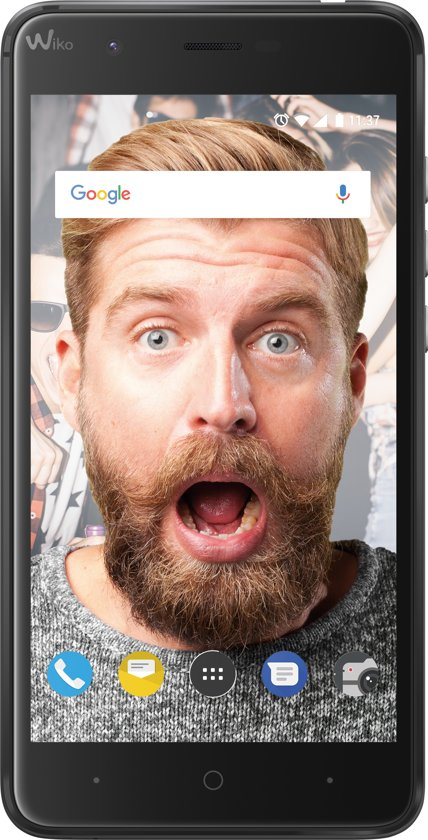 Wiko Harry - 16 GB - dual sim - Grijs