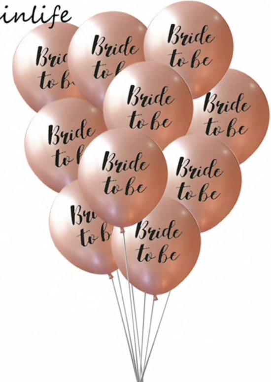 Bride To Be Ballonnen Ballonnen Set Bride To Be Helium Ballonnen Vrijgezellenfeest Wedding Ballon Bruiloft