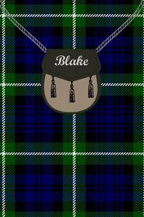 Blake Clan Tartan Journal/Notebook