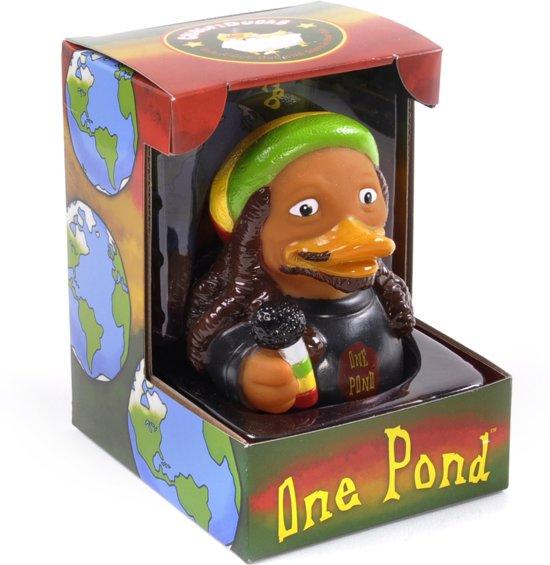 CelebriDucks ONE POND    BOB MARLEY   11cm  bekendste badeendjes merk uit de USA