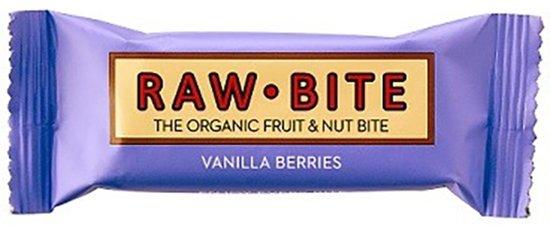 Raw-Bite Vanilla Berries 12 stuks