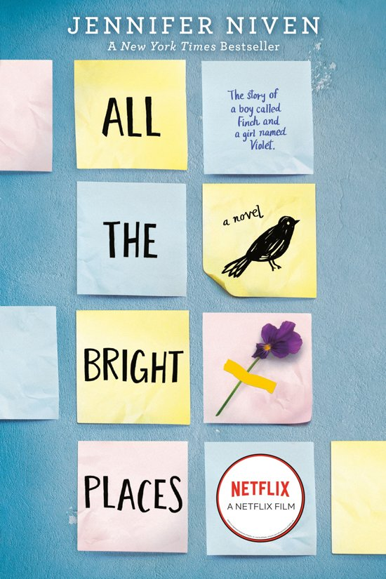 Boek cover All the Bright Places van Jennifer Niven (Paperback)