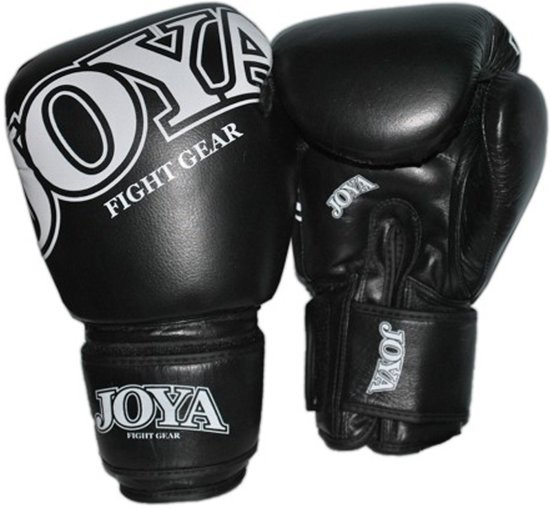 Joya Thai Kickbokshandschoenen Leer Zwart-12 oz.