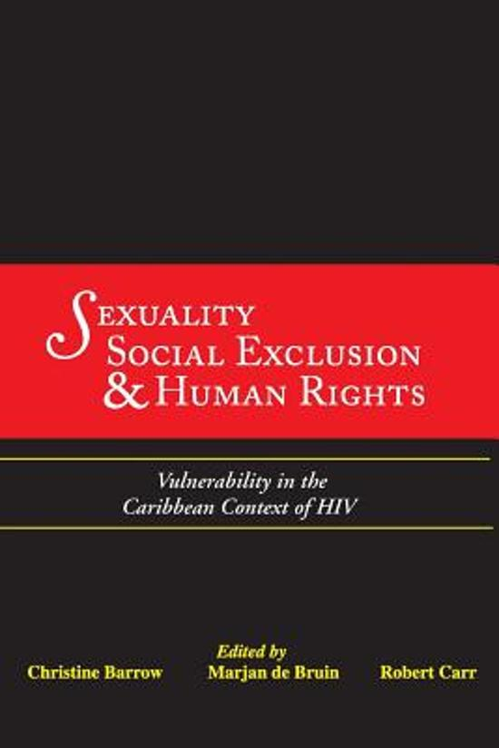 Sexuality, Social Exclusion and Human Rights